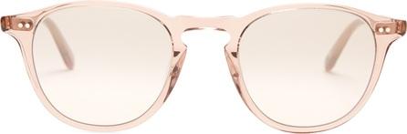 GARRETT LEIGHT Hampton 46 round-frame sunglasses