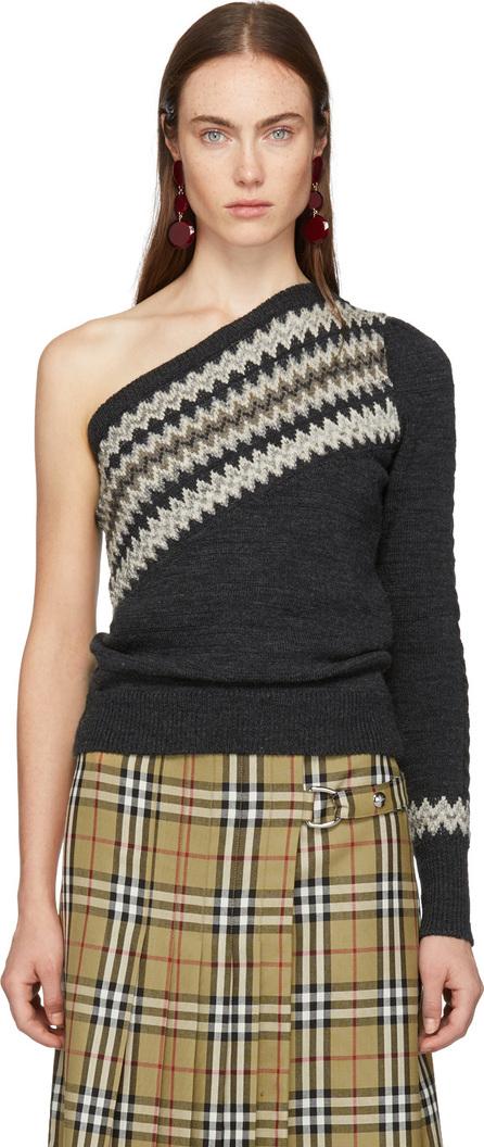 Isabel Marant Grey Dulcie Wild West Sweater