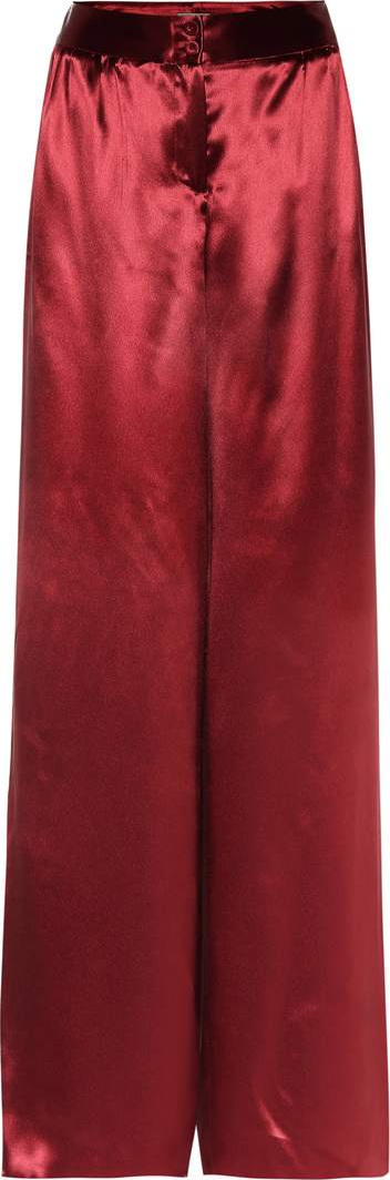 Bottega Veneta Baccara Rose pants