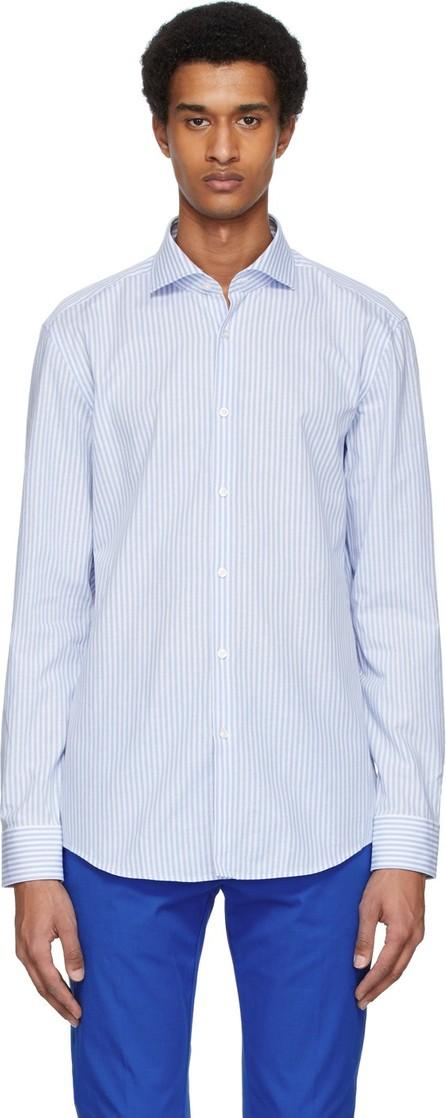 HUGO Blue & White Kason Shirt