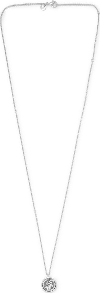 Tom Wood Engraved Sterling Silver Necklace