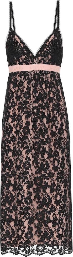 Gucci Lace midi dress