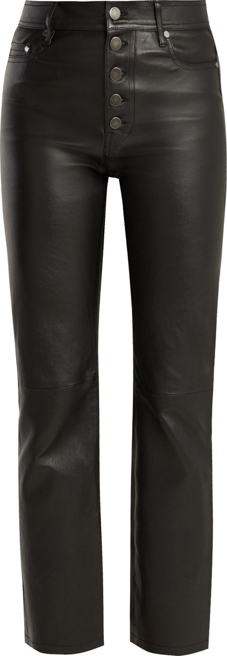 Joseph High-rise stretch-leather trousers