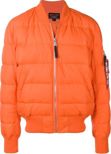 Alpha Industries Zipped padded jacket