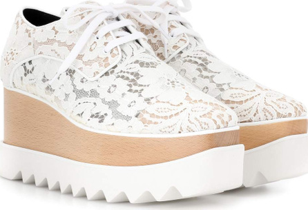 Stella McCartney Elyse lace platform brogues