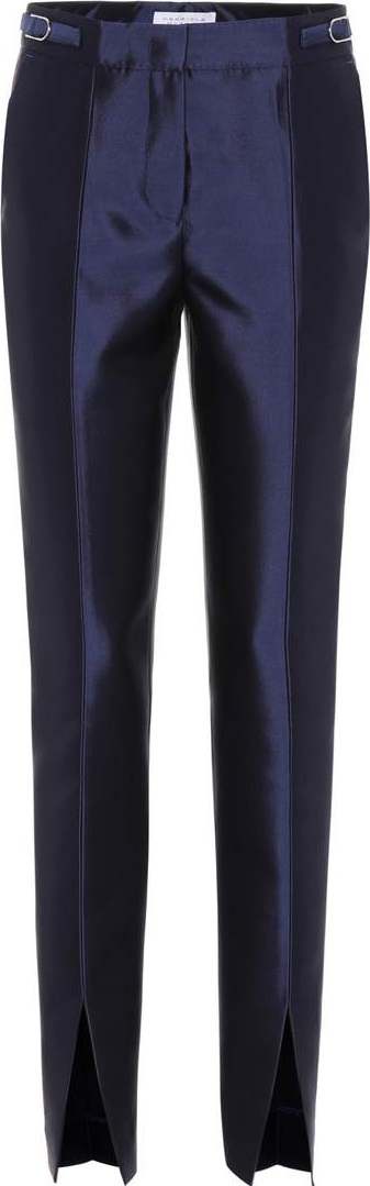 Gabriela Hearst Morrison silk and wool trousers