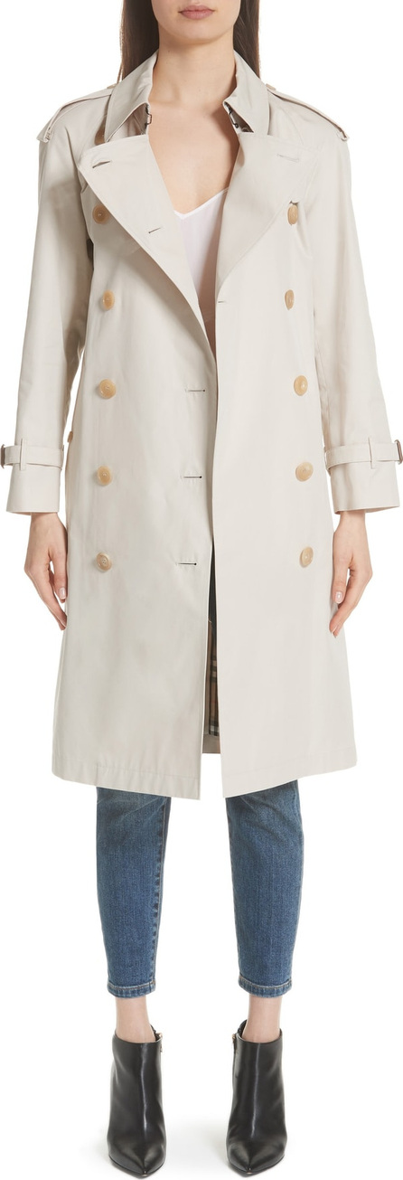 Burberry London England Treecastle Side Stripe Trench Coat