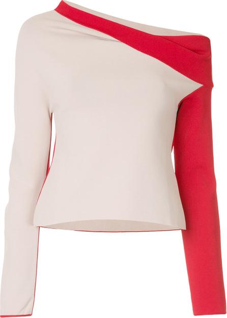 Haider Ackermann Draped asymmetric sweater