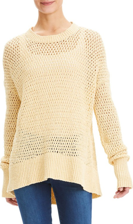 Theory Karenia Sugahero High-Low Sweater