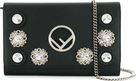 Fendi embellished clutch