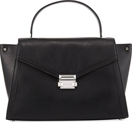 MICHAEL MICHAEL KORS Mercer Large Leather Top-Handle Satchel Bag