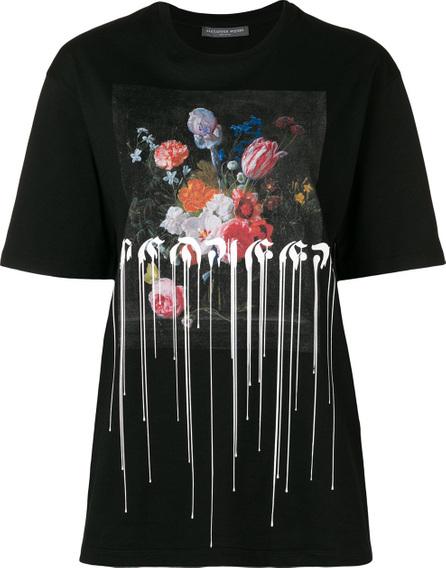 Alexander McQueen Painted print T-shirt