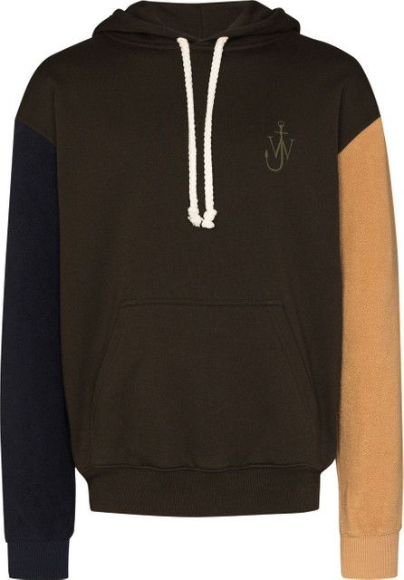 J.W.Anderson Inside Out colour-block hoodie
