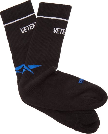 Vetements X Reebok cotton-blend split-toe socks