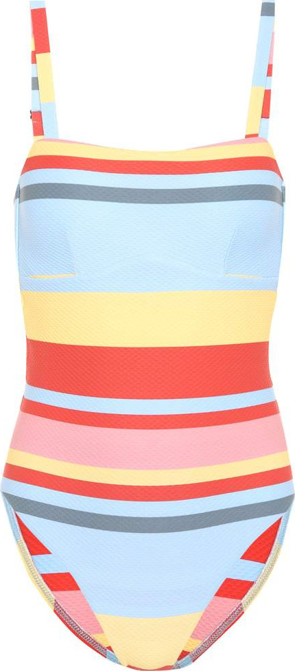 Asceno Striped swimsuit