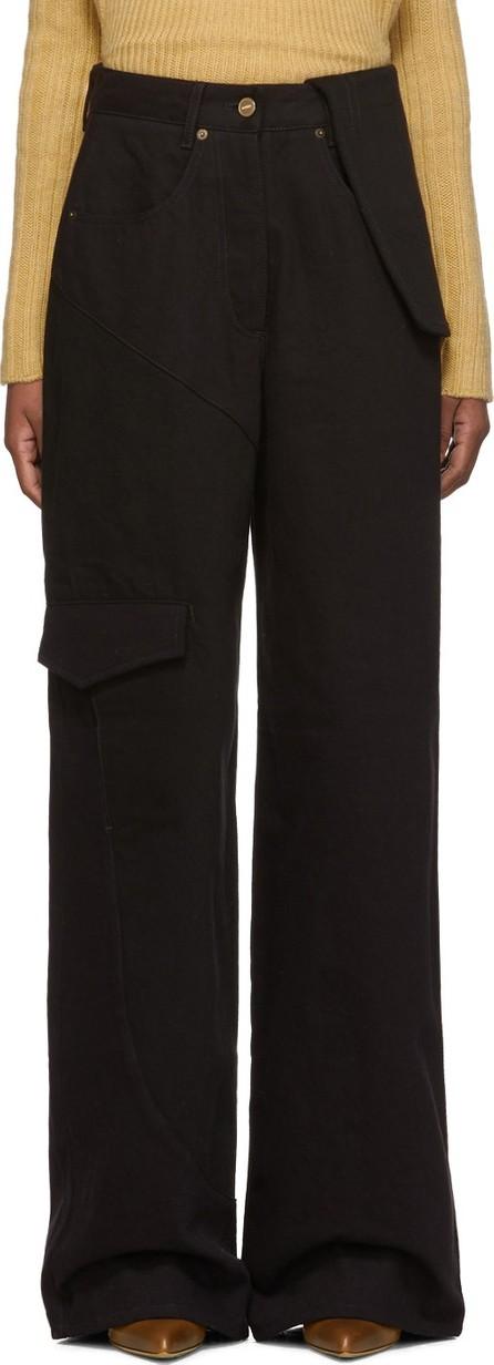Jacquemus Navy & Black 'Le Jean De Nîmes' Jeans