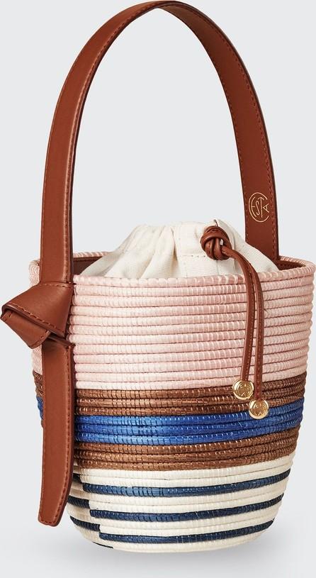 Cesta Collective Multi-Stripe Half Breton Bucket Bag