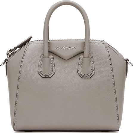 Givenchy Grey Mini Antigona Bag