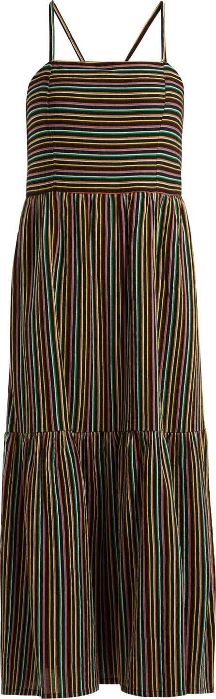 ace&jig Striped cotton maxi dress