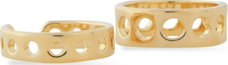 Arme De L'Amour Set of two gold-tone rings