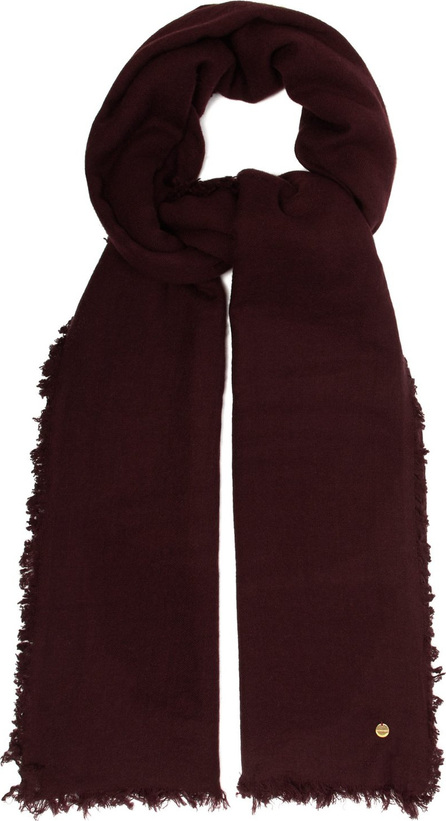 Ann Demeulemeester Frayed-edge cashmere scarf