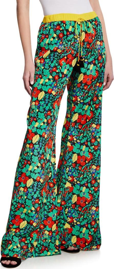 Alexis Hestia Floral Wide-Leg Drawstring Pants