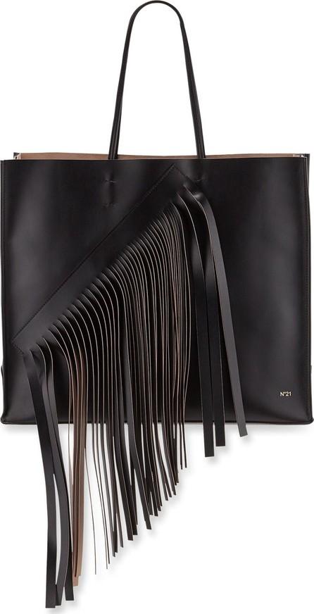 Nº21 Fringed Leather Tote Bag