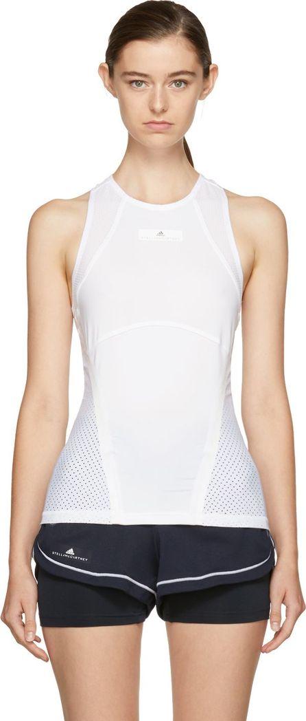 Adidas By Stella McCartney White Barricade Climacool Tennis Tank Top