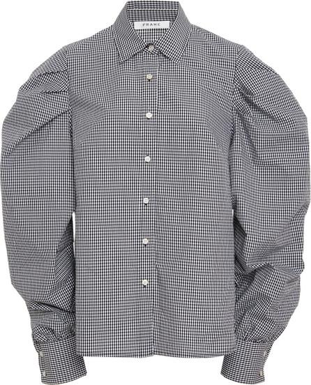 FRAME DENIM Extreme Gingham Shirt