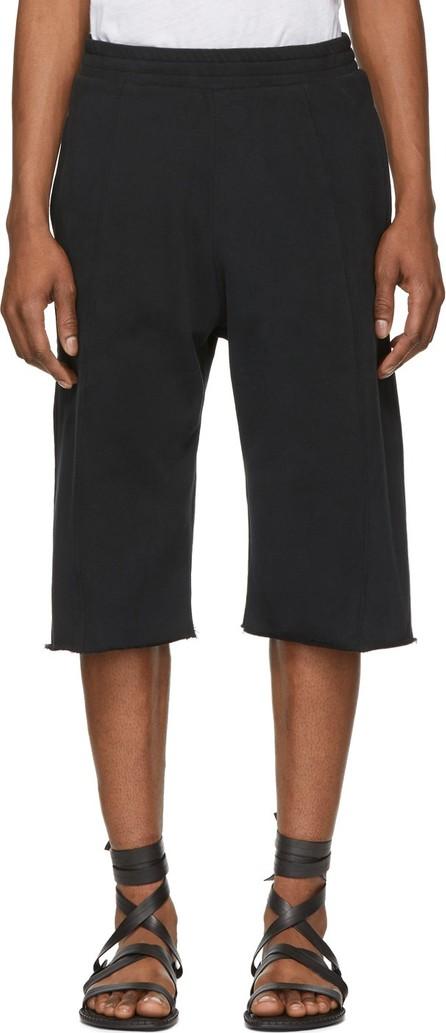 Ann Demeulemeester Black Cotton Shorts