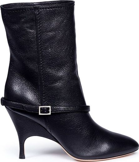 Alchimia Di Ballin 'Kari' belted nappa leather slip-on boots