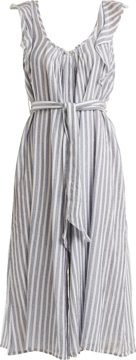 APIECE APART Highland striped wide-leg jumpsuit