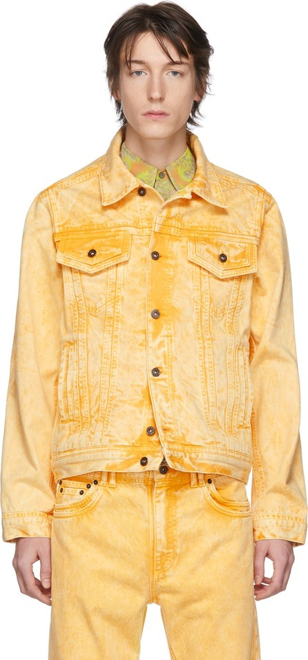 Y/Project Yellow Denim Double Seam Jacket