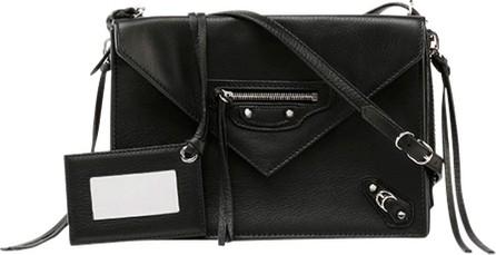 Balenciaga Papier Triple XS Envelope Crossbody Bag, Black