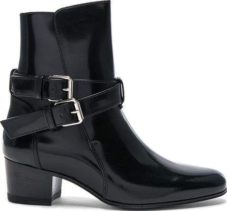 Amiri Buckle Leather Boots