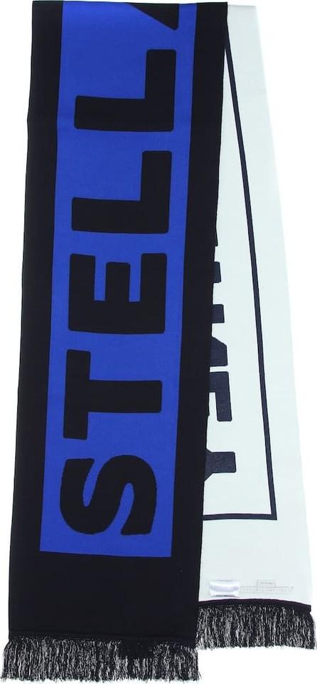 Stella McCartney Logo intarsia scarf