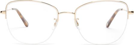 GARRETT LEIGHT Pershing 54 square-frame glasses
