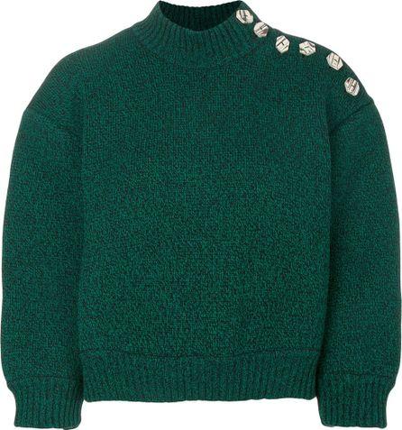Veronique Leroy cropped turtleneck sweater
