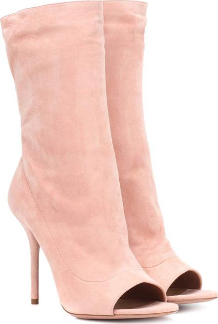 Aquazzura Suede open toe boots