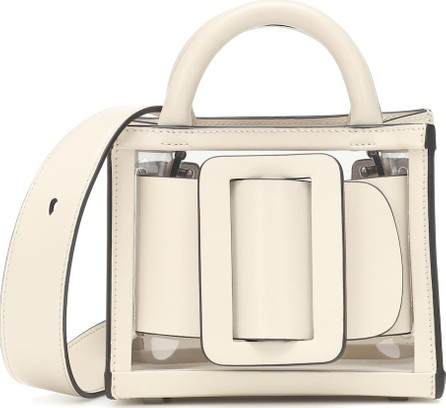 BOYY Bobby 16 PVC and leather tote