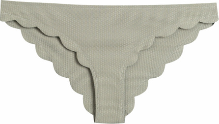Marysia Scalloped trim bikini briefs