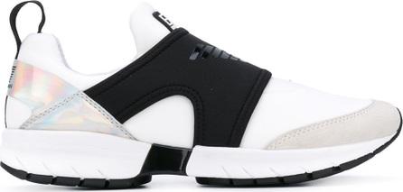 Ea7 Emporio Armani translucent panel sneakers