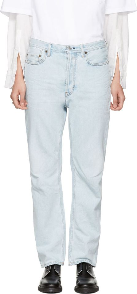Acne Studios Blue Log Jeans