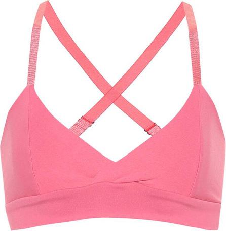 LIVE THE PROCESS V stretch sports bra