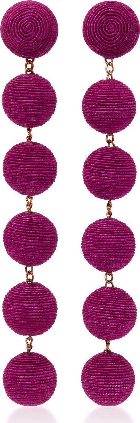 Rebecca de Ravenel Six Drop Skinny Earrings