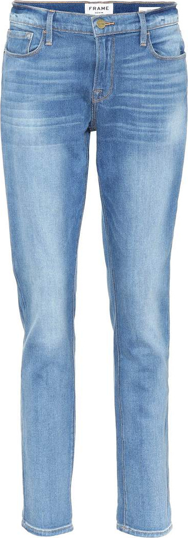 FRAME DENIM Le Garçon Crop jeans