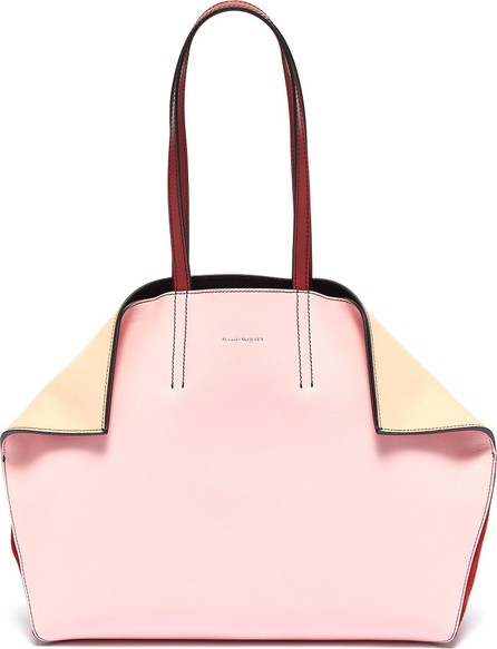 Alexander McQueen 'Butterfly' colourblock leather tote