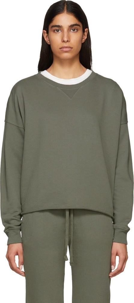 AMO Grey Cut-Off Sweatshirt