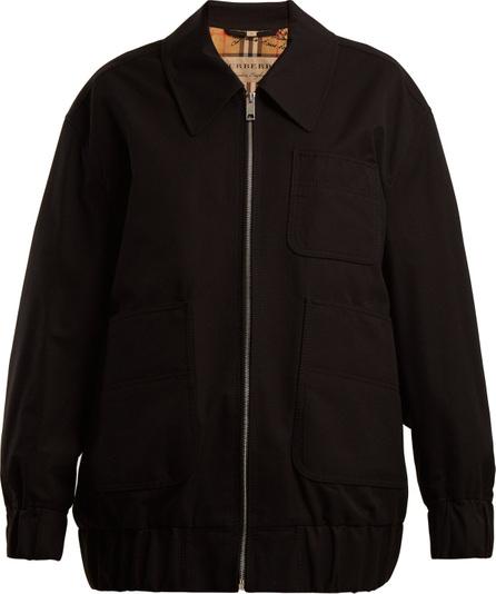 Burberry London England Barnhall cotton-gabardine Harrington jacket