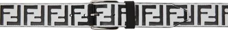 Fendi Black & White 'Forever Fendi' Belt